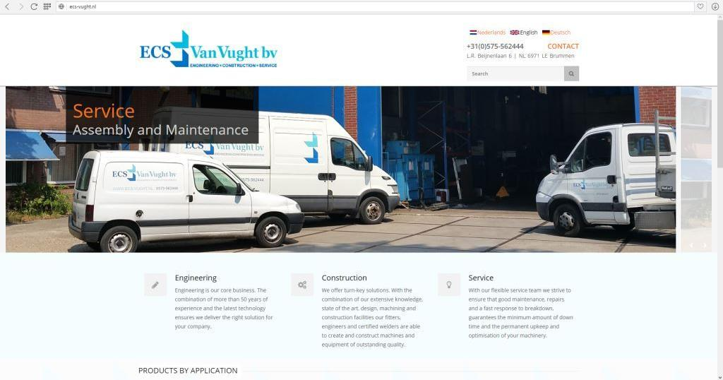 ECS vught - Website
